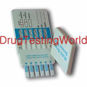Home Drug Test 5 Panel Urine Kit Testing Screen Marijuana Cocaine Meth Opiate At
