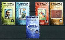 Botswana 2016 MNH Favourite Stamps on Stamps Kingfishers Birds Diamonds 5v Set