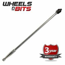 "1/2"" Drive Breaker Bar Power Flexi Knuckle Tommy Bar 600mm 24"" 0.6 Metre Long"