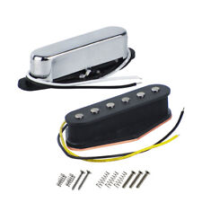 Set of Alnico 5 Tele Electric Guitar Pickups Single Coil Neck & Bridge  Pickups