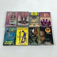 Lot 8 Cassette Tapes 90s Rap Hip Hop D'Angelo Queen Pen 12 Gauge LiL Mo [SEALED]
