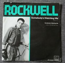 Rockwell - Michael Jackson, somebody's watching me, SP- 45 Tours import