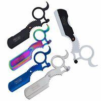 Barber Salon Straight Cut Throat Wet Shaving Razor 5 Colours
