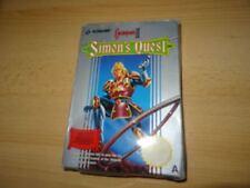 Jeux vidéo manuels inclus pour action et aventure et nintendo NES