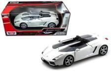Lamborghini Concept S MOTORMAX Diecast 1:18 Scale White