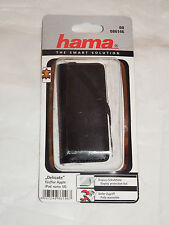 """00086146 Hama """"delicato"""" MP3 Custodia per iPod nano 5G, NERO + PELLICOLA"""