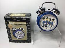 Beatles Collectible, 2008 VANDOR, Cartoon Show,Twin Bell Alarm Clock, Lights Up