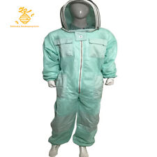 Three Mesh layer Ultra Ventilated AQUA Color Beekeeping Suits Multiple Sizes