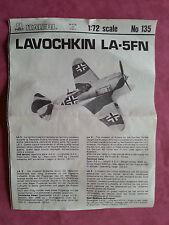 Maquette ITALERI 1/72 Avion LOVACHKIN LA-5FN
