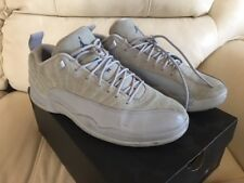 AIR JORDAN 12 RETRO XII LOW WOLF GREY ARMORY NAVY 308317-002 Size 10
