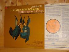 Bach Magnificat BWV 243 COLLEGIUM AUREUM TÖLZ CHOIR BOYS HARMONIA MUNDI UK LP NM
