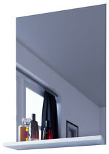 vcm spiegel badspiegel wandspiegel mit ablage badmbel sesal 60 x