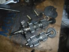 TRIUMPH  TR6R TIGER 1971 transmission gear box gears shafts