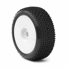 AKA 14002WRW Cityblock 1/8th Off Road Buggy Tyres UltraSoft Pre-Glued - Set of 4