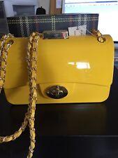 Mini Yellow Top Fashion Acrylic Clutch Handbag