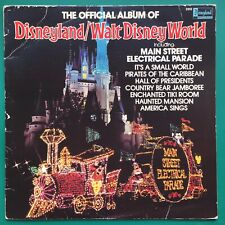 Official Album DISNEYLAND/WALT DISNEY WORLD Soundtrack LP Perrey Kingsley USA 80