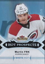 16-17 Fleer Showcase Martin Frk /5 Rookie Hot Prospects White Hot Panthers 2016