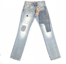 Levis Mens Jeans 511 Slim Deconstructed Rip & Repair Dirty-Wash Size 28x32 $98