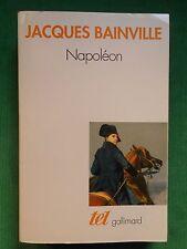 NAPOLEON JACQUES BAINVILLE TEL GALLIMARD