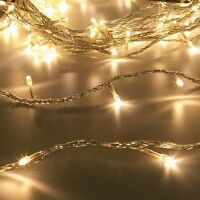 100 LED INDOOR LOW VOLTAGE WEDDING CHRISTMAS TREE PARTY 2M FAIRY STRING LIGHTS