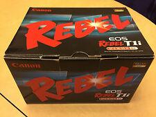Brand New Canon EOS Rebel T1i 500D 15.1MP Digital SLR Camera 18-55mm IS Lens Kit