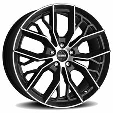 CERCHI IN LEGA MOMO MASSIMO 7.5X17 5X112 ET40 VOLKSWAGEN VW GOLF PLUS NERO O A2C