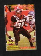 Northeastern Huskies--2005 Football Pocket Schedule--Boston House of Pizza