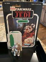Vintage CHIEF CHIRPA w/ CARD BACK Star Wars Action Figure 1983 H.K. - COMPLETE