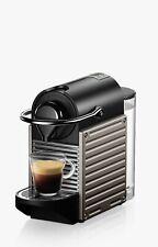 Máquina De Café Nespresso Krups Pixie XN304T40, titanio