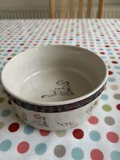 Cat Bowl Willow Ceramic