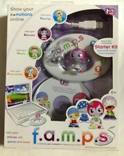 f.a.m.p.s by Girl Tech Starter Kit Software & Charm Show Your E-motions NEW!