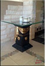 Säulen Beistelltisch Medusa Marmor Optik Kaffetisch Tisch Telefontisch
