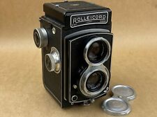 Rolleicord III vintage 6x6 TLR camera w/ 75mm Xenar Lens takes 120 Film - Works