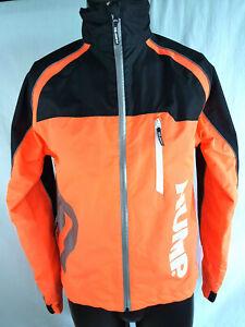 Mens HUMP Strobe Waterproof cycling Jacket Size Small Reflective chevrons Good