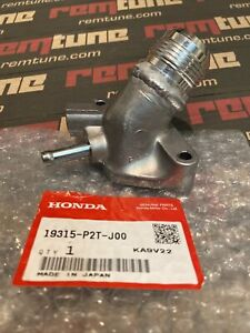 Acura Honda B16 B Series Coolant Outlet Housing -16AN Water Neck EM1 99 Civic SI