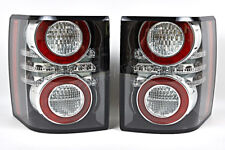 Land Rover Range Rover 2011-2012 LED Antifog Black Tail lights Rear Lamps PAIR