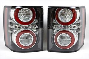 Land Rover Range Rover 2011-2012 LED Antifog Black Tail lights Rear Lamps PAIR