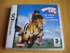HORSE LIFE TON CHEVAL TON AMI  JEU DS / DS LITE / DSI / 2DS