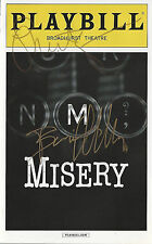 MISERY Bruce Willis Laurie Metcalf Signed Broadway Playbill