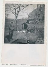 Foto soldados Wehrmacht-bunker (e90)