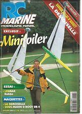 RC MARINE N°118 MINITOILER / LEHMAR ROBBE / LA DEMOISELLE / SOUS-MARIN U-BOOT