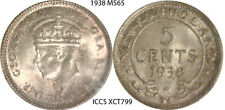 5¢ Newfoundland 1938 ICCS MS65
