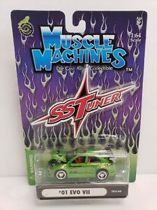 Muscle Machines SS Tuner '01 Evo II Green