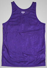 Purple Nylon Wicking Running/Track Singlet/Tank Top by Augusta - Men's XL *NEW*