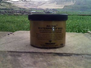 GOLD LABEL WATERPROOF WAX 150g 400g for Waxed Cotton Garments