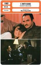 L'ANTI-GANG - Reynolds,Ward,Gassman (Fiche Cinéma) 1982 - Sharky's Machine