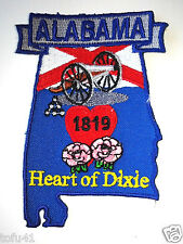 *** ALABAMA STATE MAP *** Biker Patch PM6701 EE