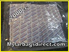 TWENTY Real 2000cc OXYGEN ABSORBER PACKETS O2 Absorbers for Food Storage 2000 CC