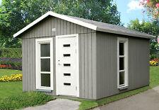 Gartenhaus Ly 2 Ausbauhaus Freizeithaus Bürohaus 332x455 cm Elementhaus Holzhaus