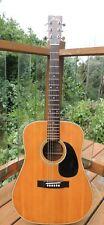 Vintage 1970's Fender F-35 Acoustic Guitar w/HSC